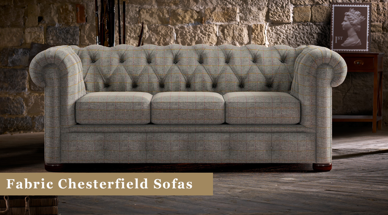 Fabric Chesterfield Sofas Uk Timeless