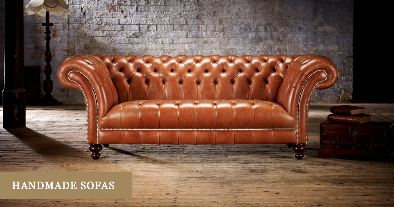 Handmade Sofas Handcrafted Leather