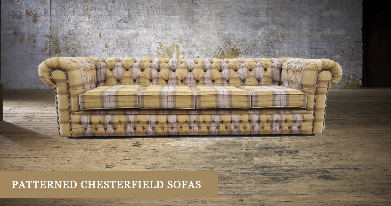Patterned Chesterfield Sofas | Timeless Chesterfields