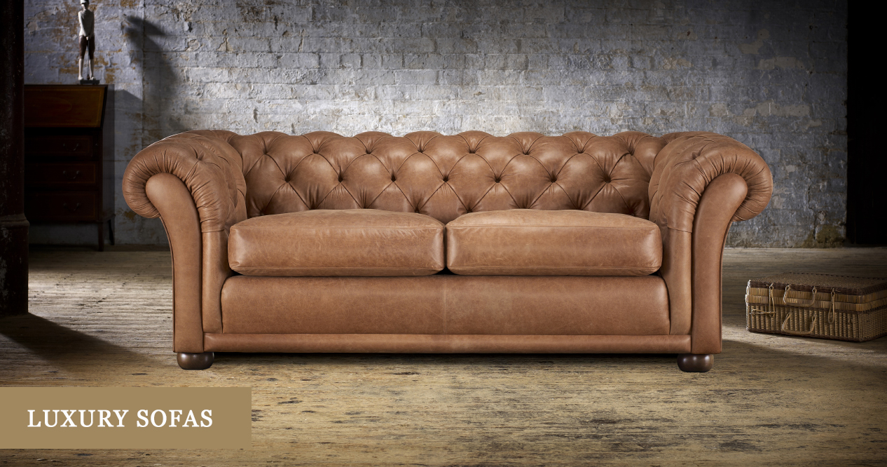 Luxury Sofas: Made In The UK | Timeless Chesterfields