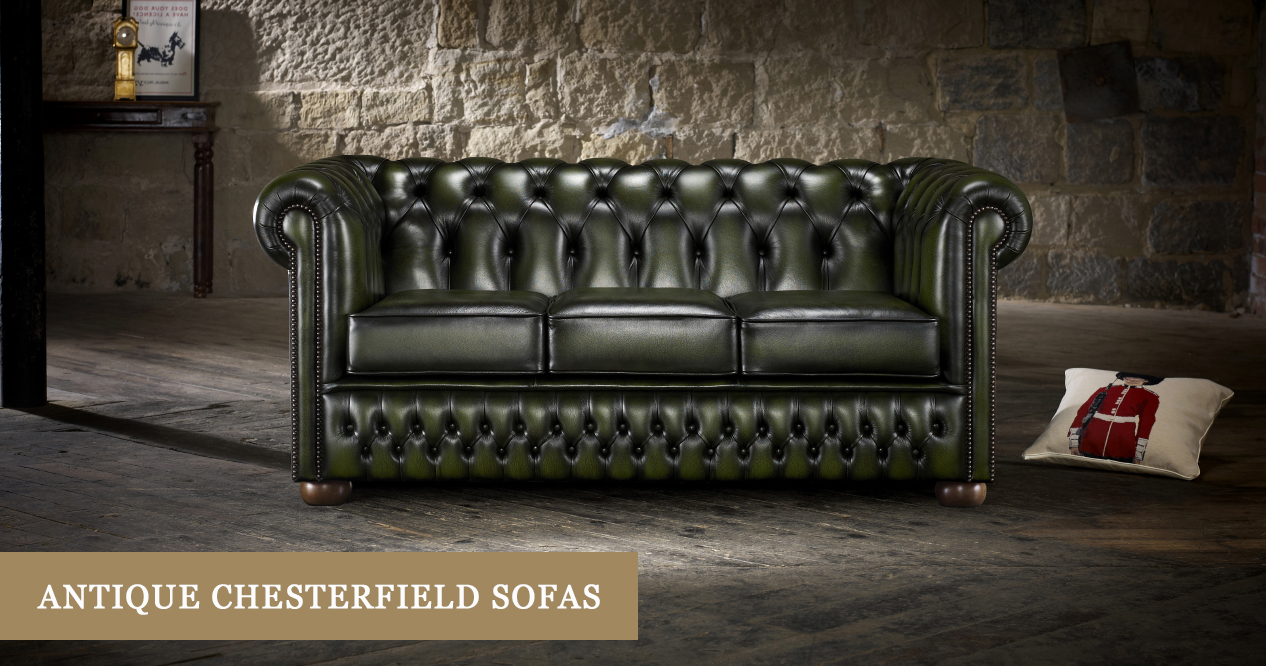 Antique Look Chesterfield Sofas Timeless Chesterfields