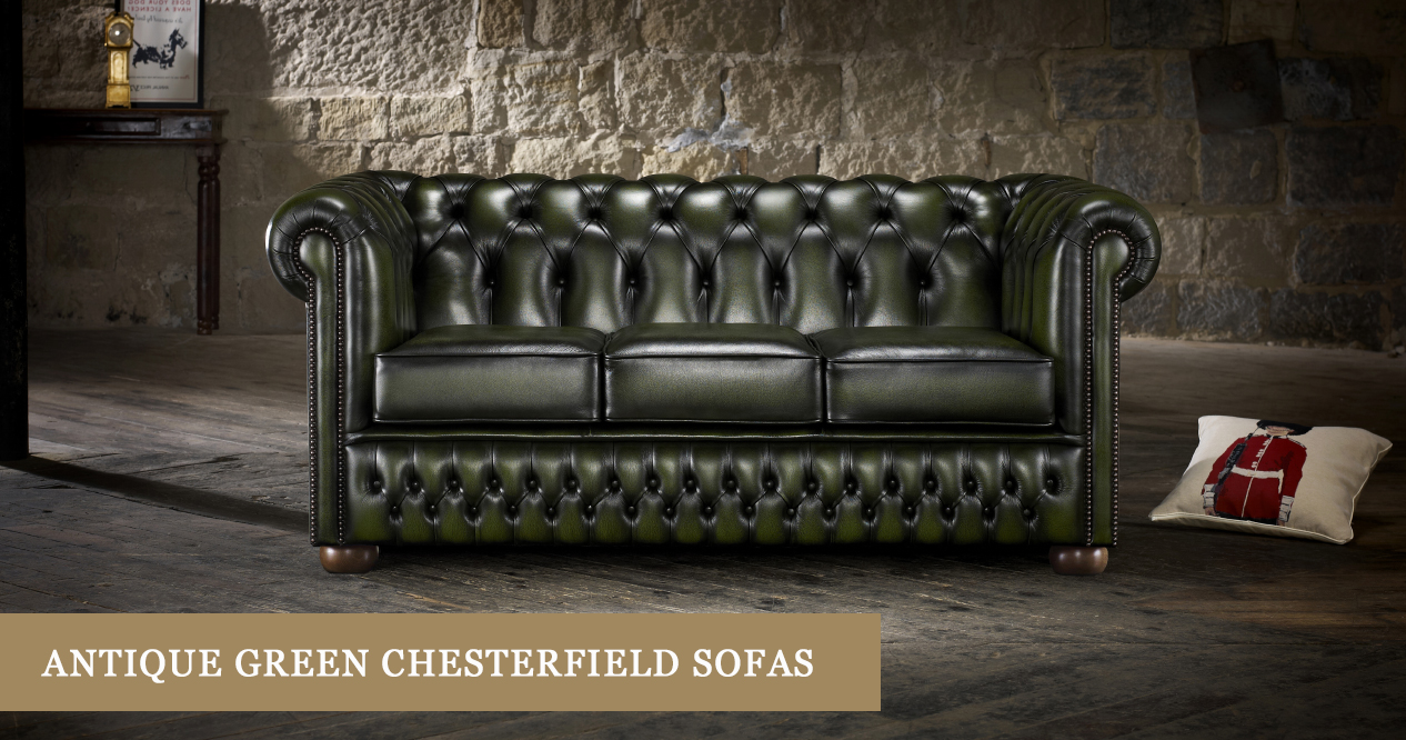 antique look green chesterfield sofas timeless chesterfields rh timelesschesterfields com