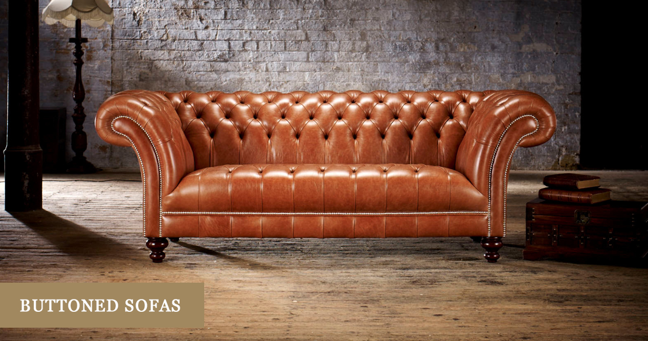 Button Back Sofas Handmade In Britain Timeless Chesterfields