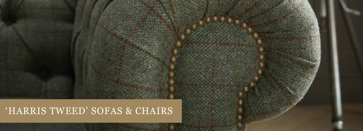 Harris Tweed Sofas Chairs Timeless Chesterfields