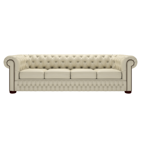 Merveilleux Chesterfield 4 Seater Sofa Zoom