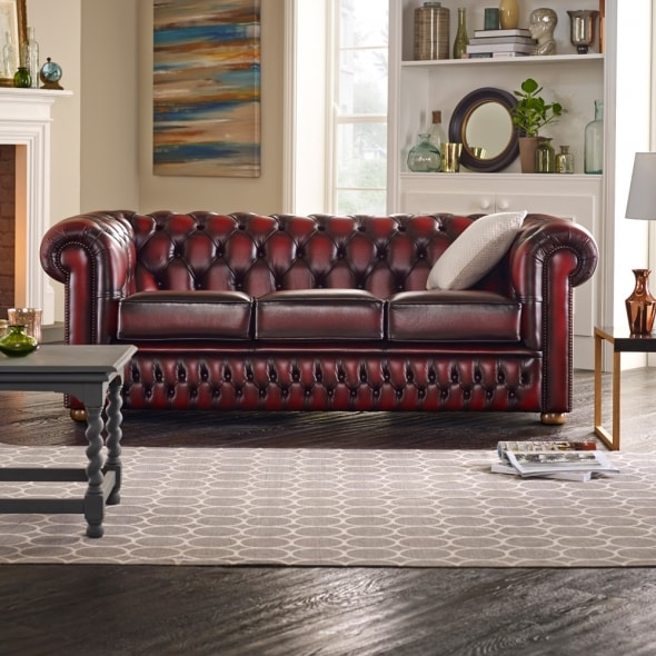 Chesterfield Chair In Shelly Cream From Timeless Chesterfields Uk