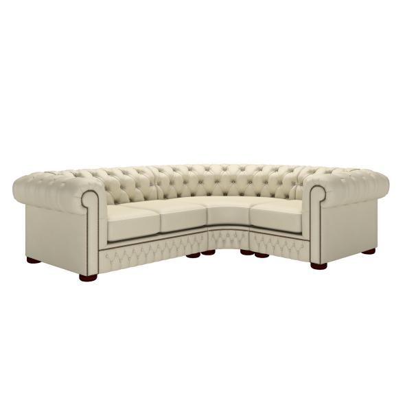 Classic Chesterfield Corner Sofa 2x1 Timeless Chesterfields