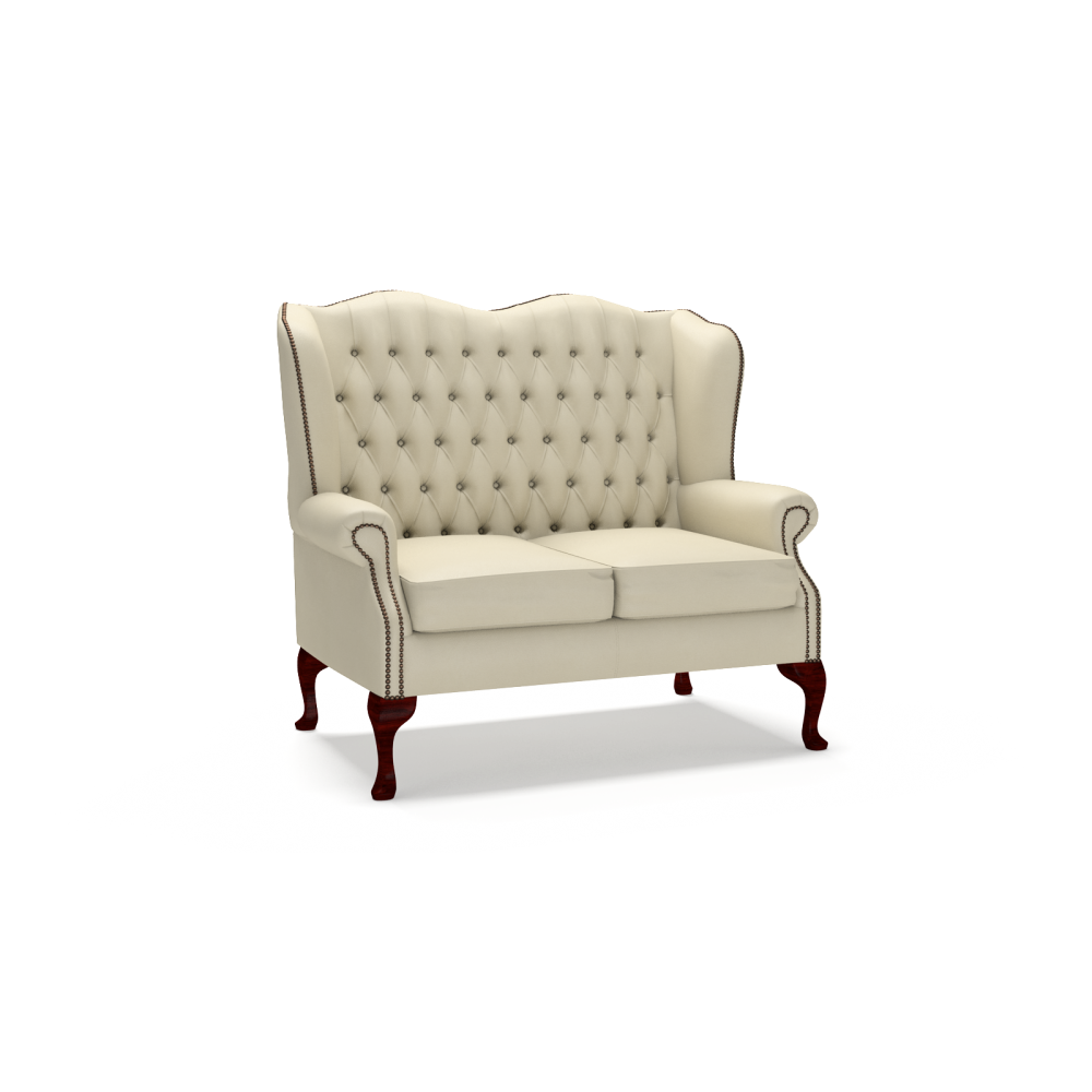 Classic 2 seater sofa from timeless chesterfields uk for Classic loveseat