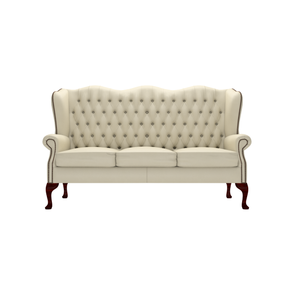 Classic 3 seater sofa from timeless chesterfields uk for Classic 3