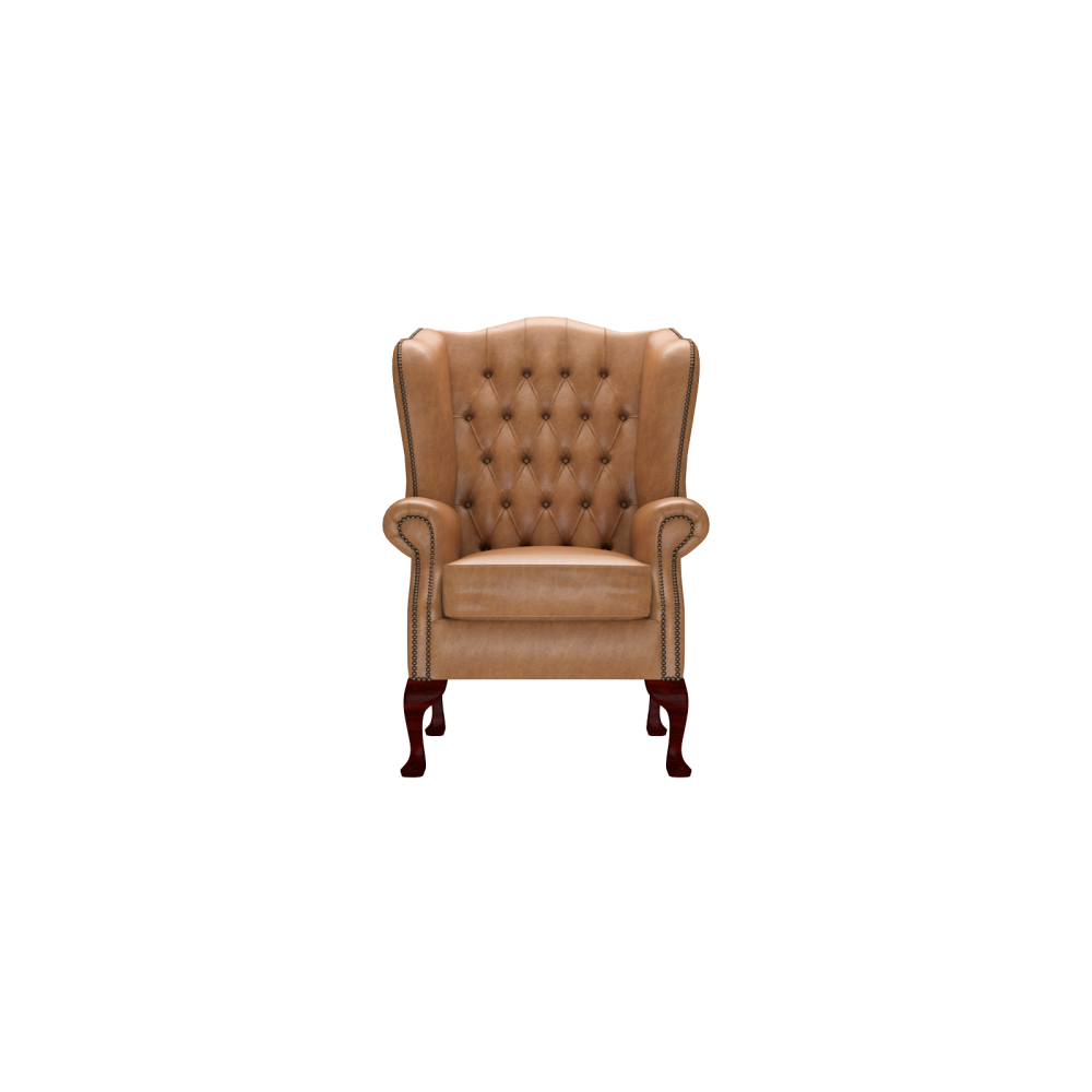 Classic Chair in Old English Tan from Timeless Chesterfields UK