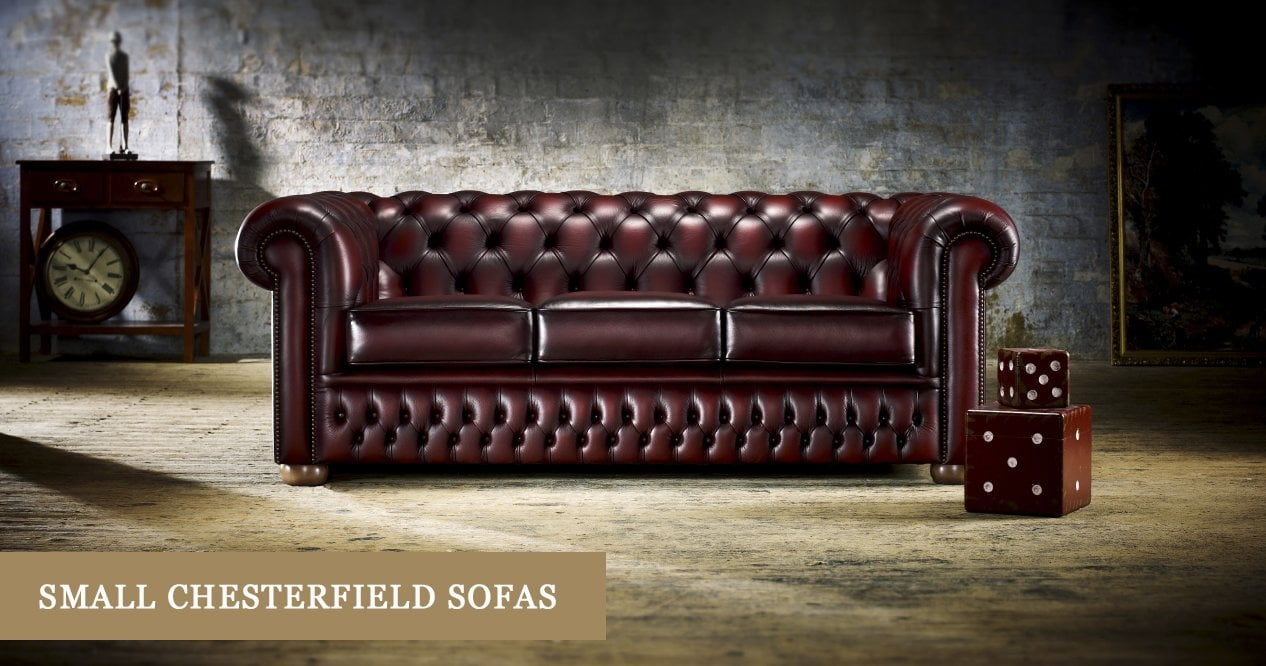 Small Chesterfield Sofas Made In England Timeless Chesterfields
