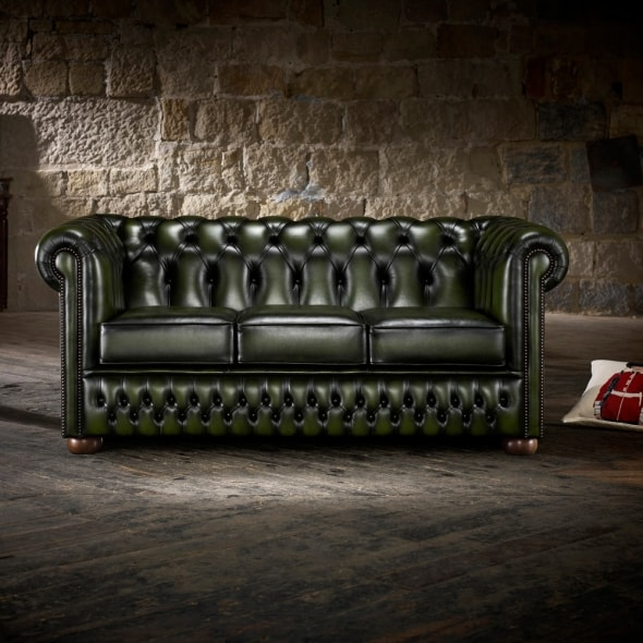 Ellington 3 Seater Sofa From Timeless Chesterfields Uk