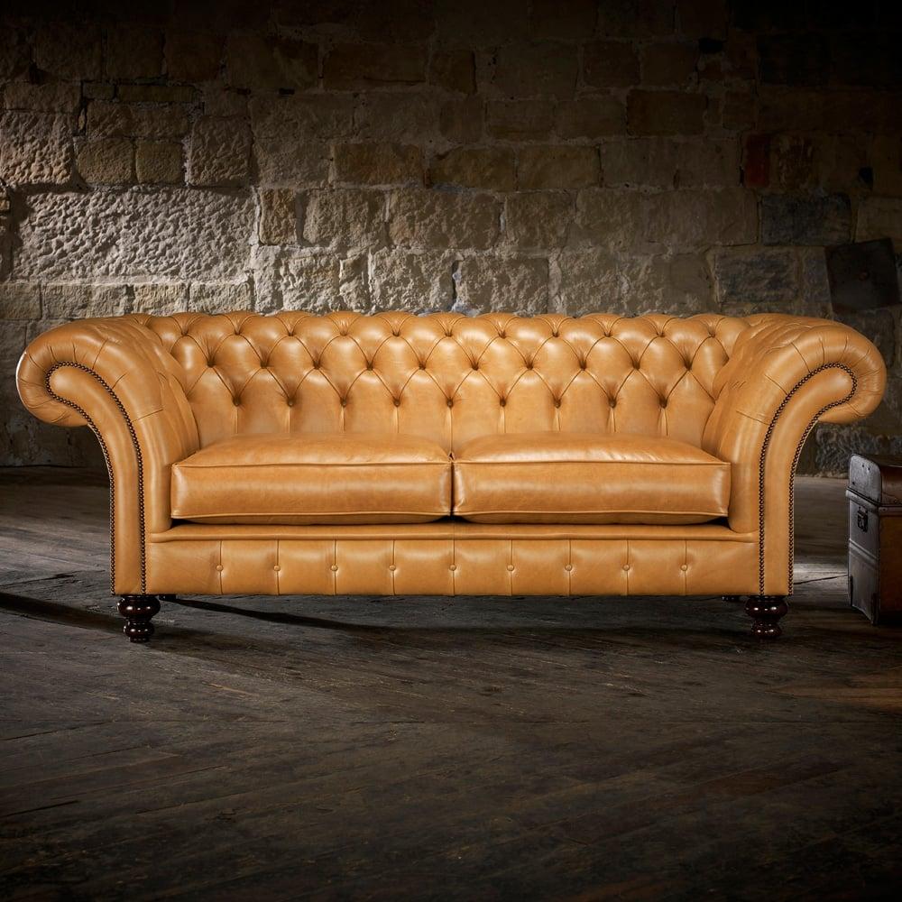 Grosvenor 3 Seater Sofa In Wool   Herringbone Paprika ...