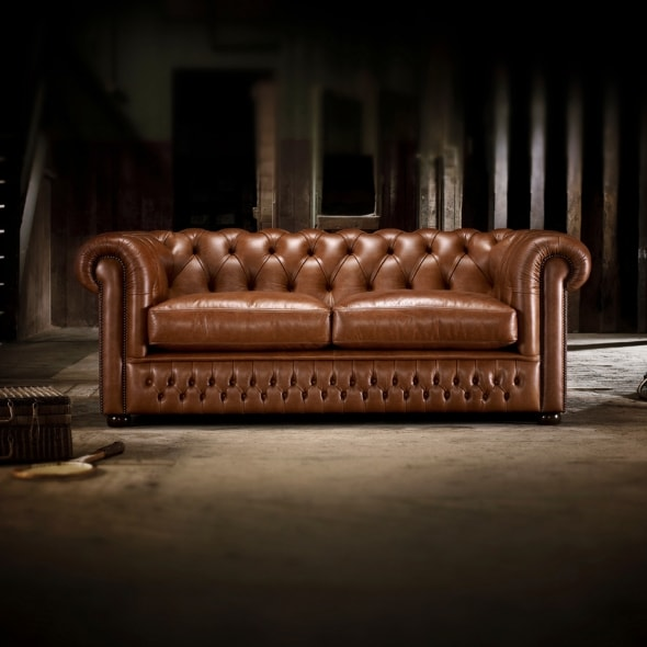 Knightsbridge 3 Seater Sofa Bed From Timeless Chesterfields Uk