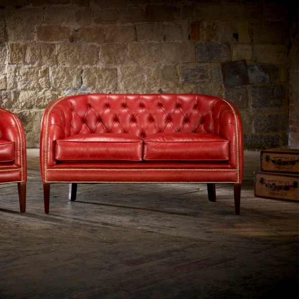 Mayfair 2 Seater Sofa - from Timeless Chesterfields UK