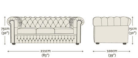 3 Seater Sofa Dimensions In Feet - Home The Honoroak
