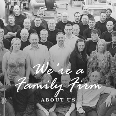 We're a family firm