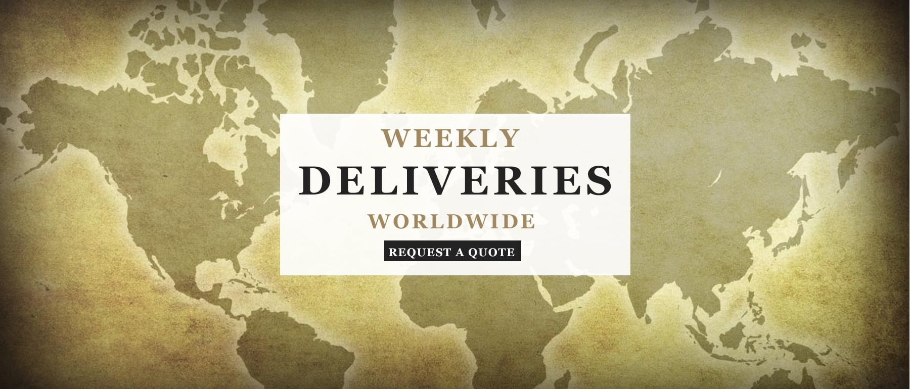 Weekly Deliveries Worldwide