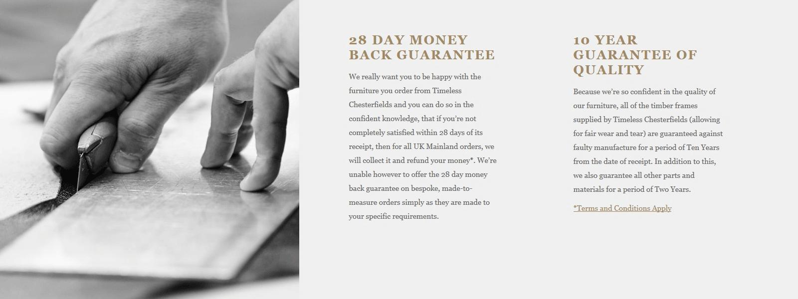 28 Day Mone Back Guarantee