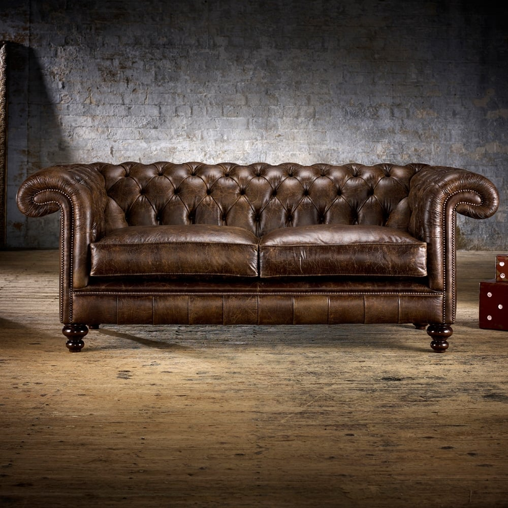 Rochester 3 Seater Sofa From Timeless Chesterfields Uk