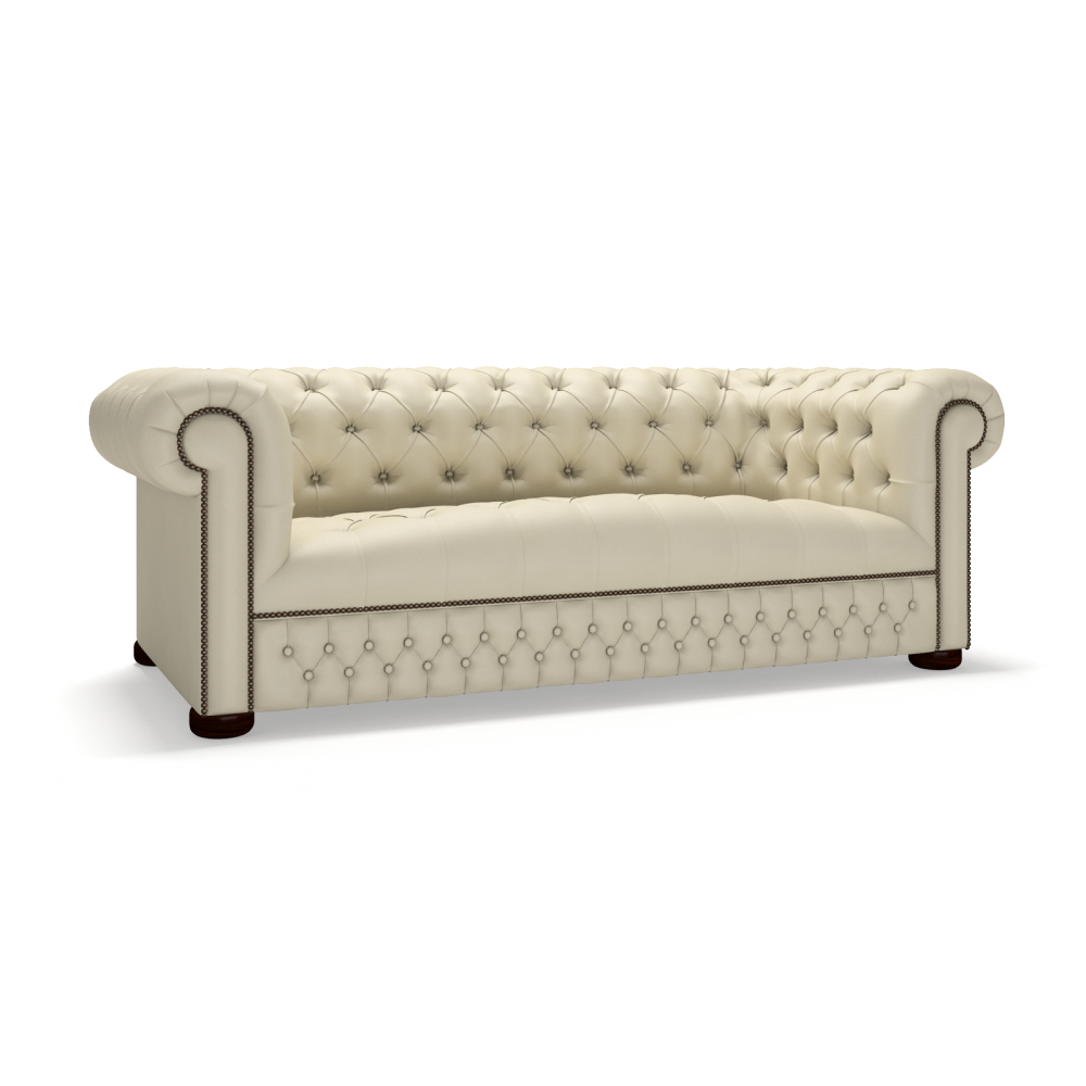 Stanhope 3 Seater Sofa - from Timeless Chesterfields UK