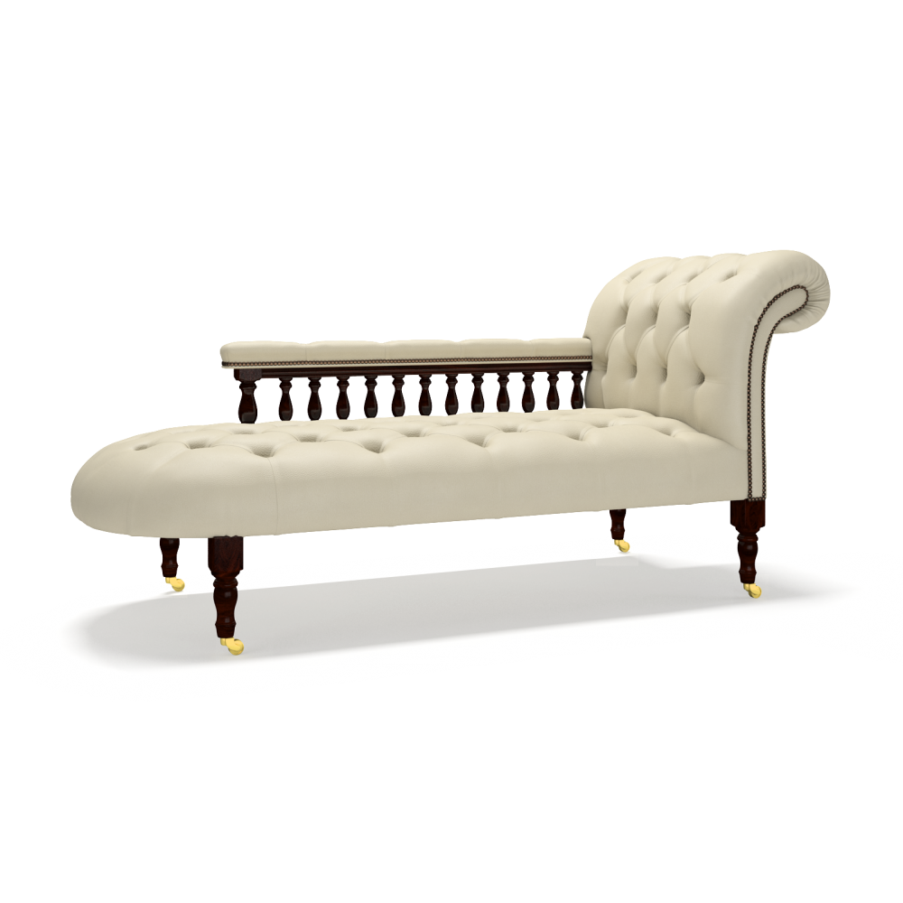 Victorian chaise longue for Chaises longues tressees